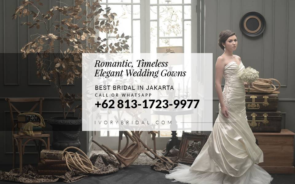Bridal di Jakarta, Bridal Wedding, Wedding Dress