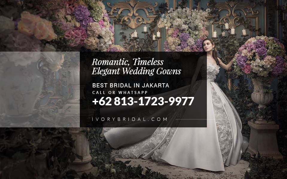 Online Bridal Boutique, Bridal di Jakarta, Wedding Boutique Near Me